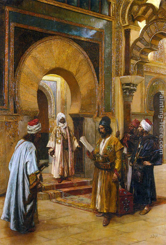 "Clement Pujol de Guastavino ""Emmisaries to the Sultan"""