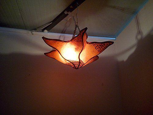 Lámpara marroquí lámpara farol Piel Hierro Henne Oriental Hippie étnico chic