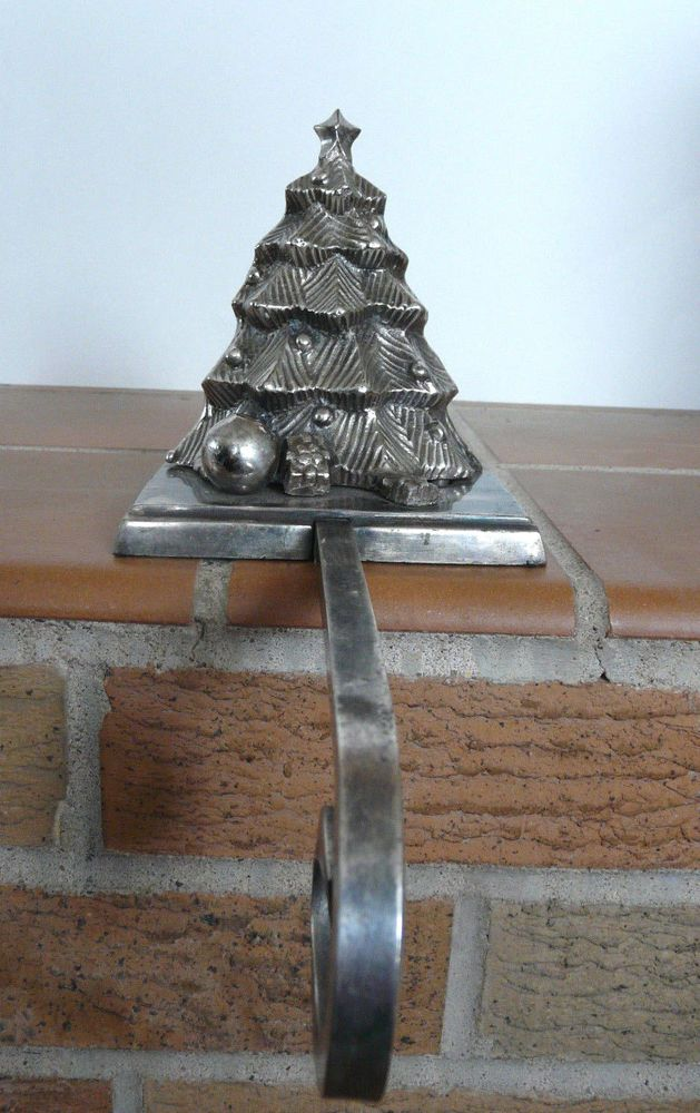 Silver And Black Christmas Tree