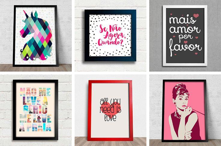 4 lojas online para comprar quadros e pôsteres - Casinha Arrumada