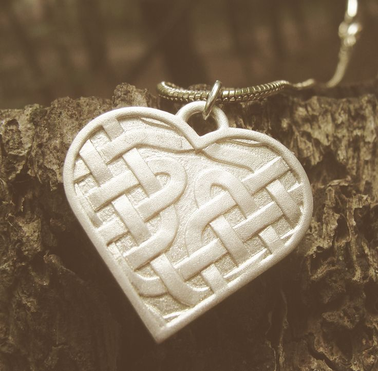 Show your love to Celtic knots with your very own customized necklace.