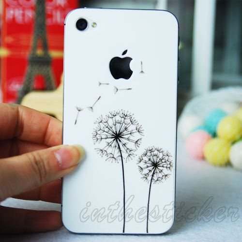 Iphone Decals Iphone Stickers Iphone Cover Skins Vinyl Decal for Apple Iphone Uniboday Partial Skin on Etsy, $7.99