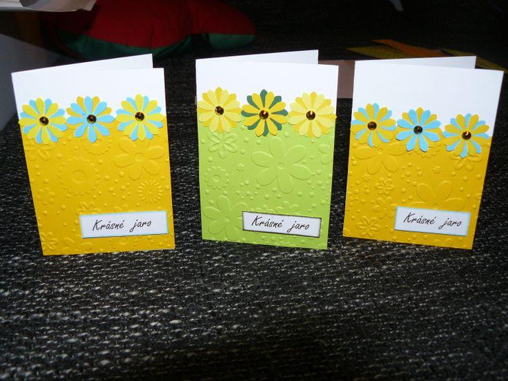 jarní přáníčko - spring card