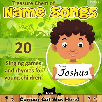 Name songs for children.  Perfect for beginning of the year.  A large collection of name songs.  Many include printable song resources.