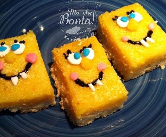 SpongeBob Lemon Bars. #ricetta di @wondercle