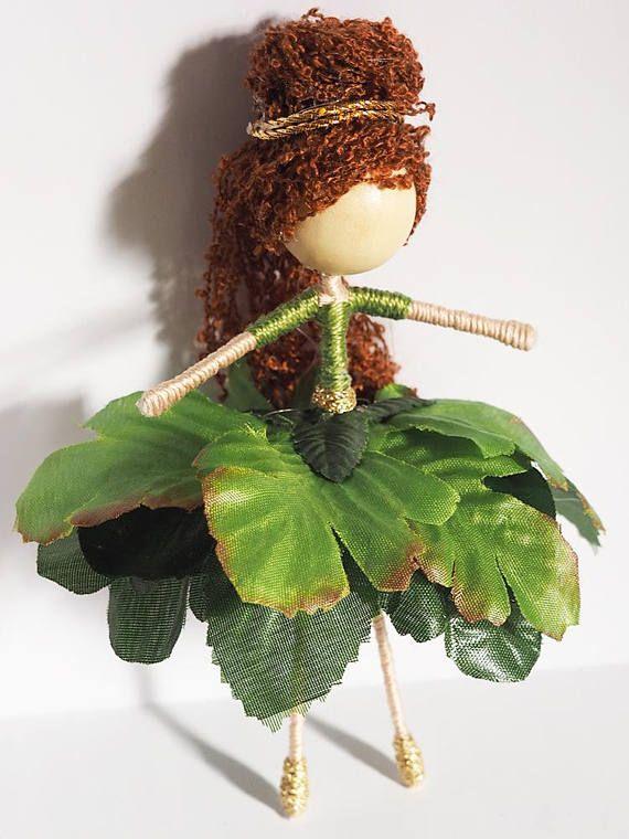 Fen the garden sprite Flower fairy doll