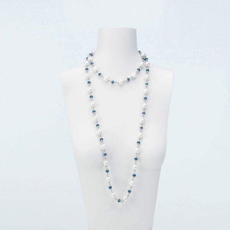Favorito Oltre 25 fantastiche idee su Collane di perle lunghe su Pinterest  GH07