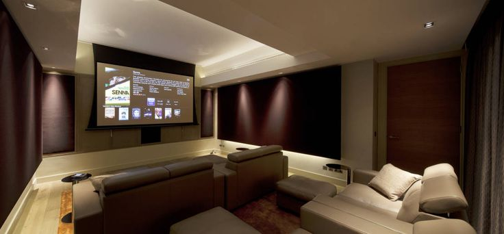 Holford Road 2 : Modern media room by KSR Architects