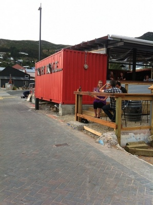 51 best images about retail shipping containers on for Aprisa mexican cuisine portland