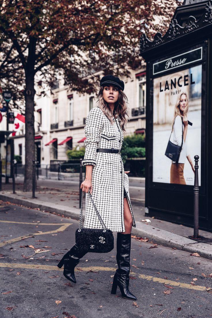 PFW Day 2 :: Black & White Chanel