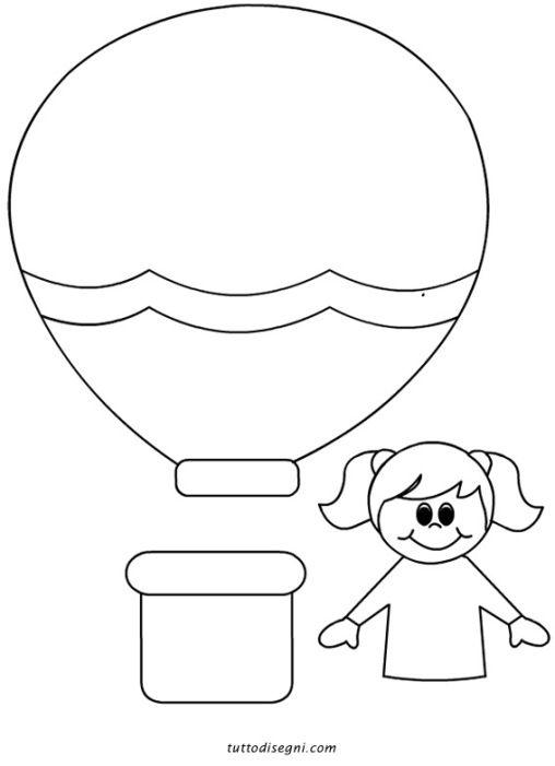 sagome-mongolfiera-bambina