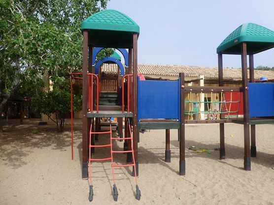 in Candia Park Village you will find a playground with slides and swings, so our younger guests can play all day long! #Facilities #CandiaPark #Crete