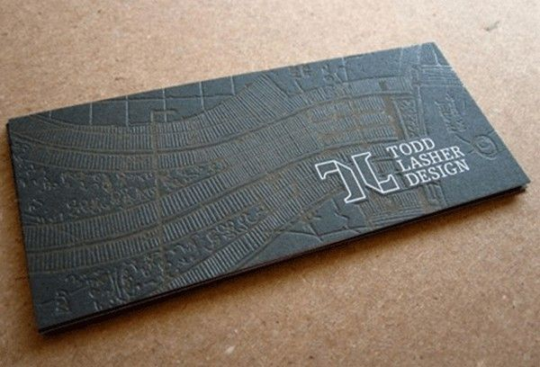 It's definitely too early in my education to be looking at business cards, but these are just beautiful!