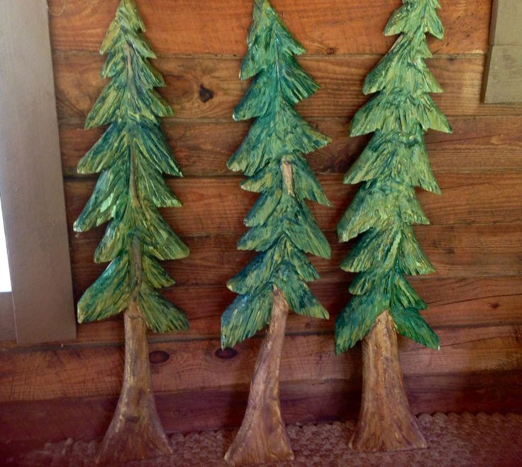 Pine tree sculpture ft chainsaw carving evergreen