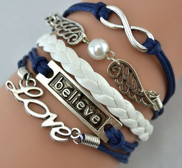 2015-Fashion-Leather-Cheap-Anchor-Charm-Leather