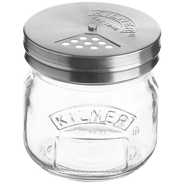 Buy Kilner Jar & Shaker Lid, 250ml Online at johnlewis.com