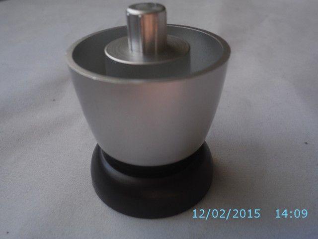 Stopka Meblowa 7.116 Chrom mat, Aluminium H45-55mm