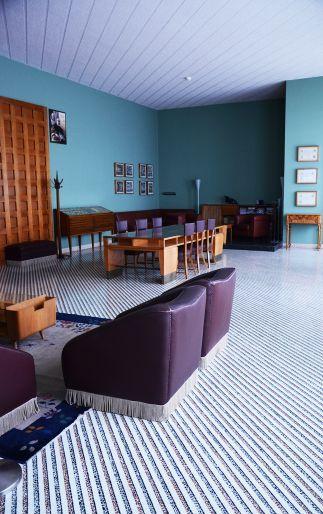 Appartamenti del Rettore dell'Università di Padova-Circolo dei Professori, Gio Ponti (photo Bergamin)