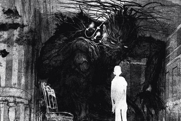 a monster calls Jim Kay the monster