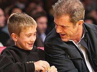 Mel Gibson with son Thomas