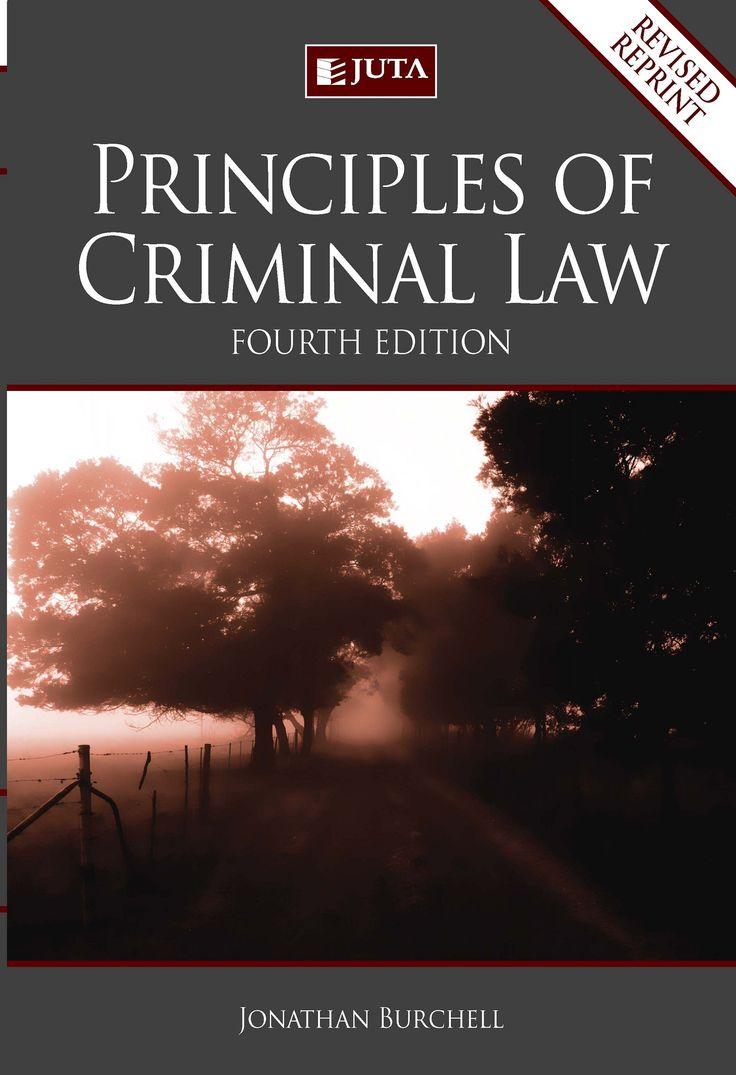 The revised fourth edition of Principles of Criminal Law is published in print and e-book form (hyperlinked to the third edition of the companion volume Cases and Materials on Criminal Law).