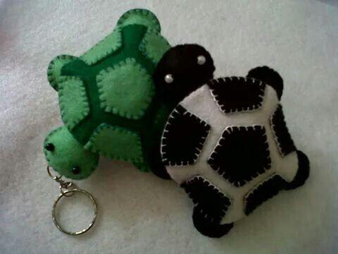 Turtle keychains...