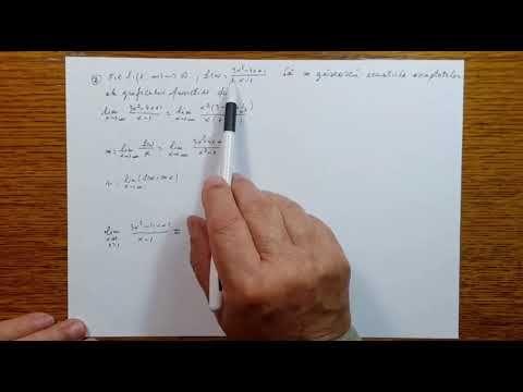 Asimptote - Analiza Matematica - Clasa a XI-a - 110404-01