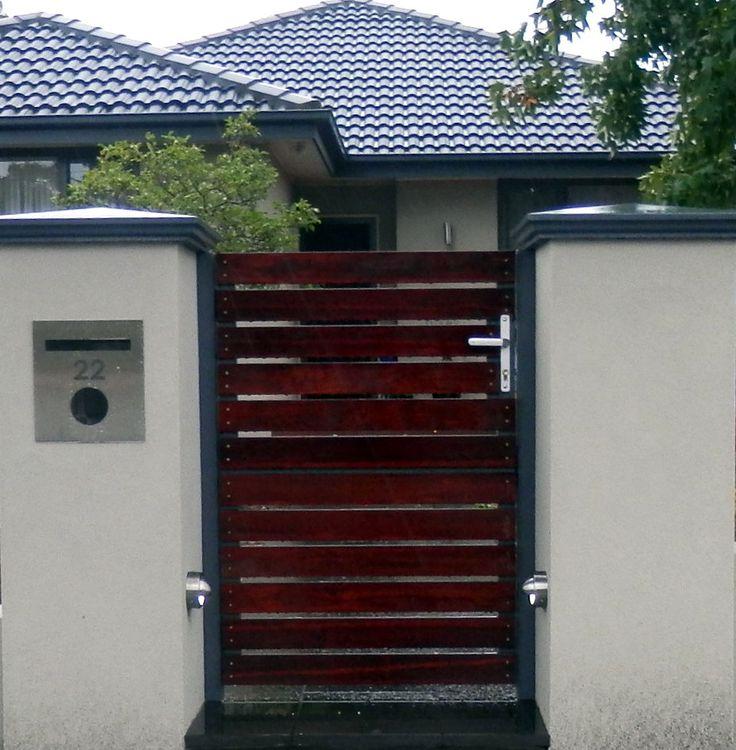 Matching Pedestrian Gates. The Motorised Gate Company - Melbourne, Australia. Visit us @ www.themotorisedgatecompany.com.au
