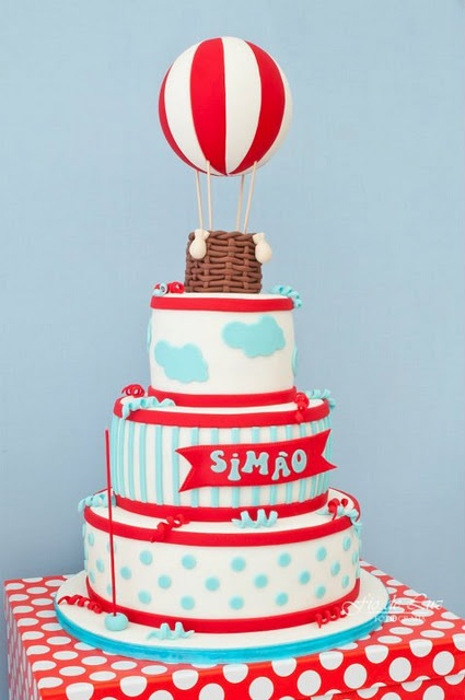 Hot Air Balloon Party- The Fabulous Cake