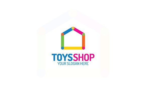 Toys shop logo by MIRARTI on @creativemarket