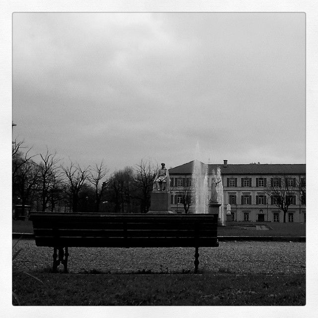 #cloudyday #park #Torino #melancholy