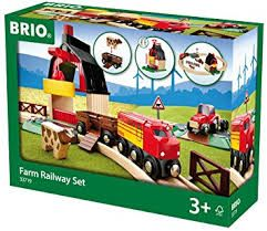 Farm Railway Set   brio 33719