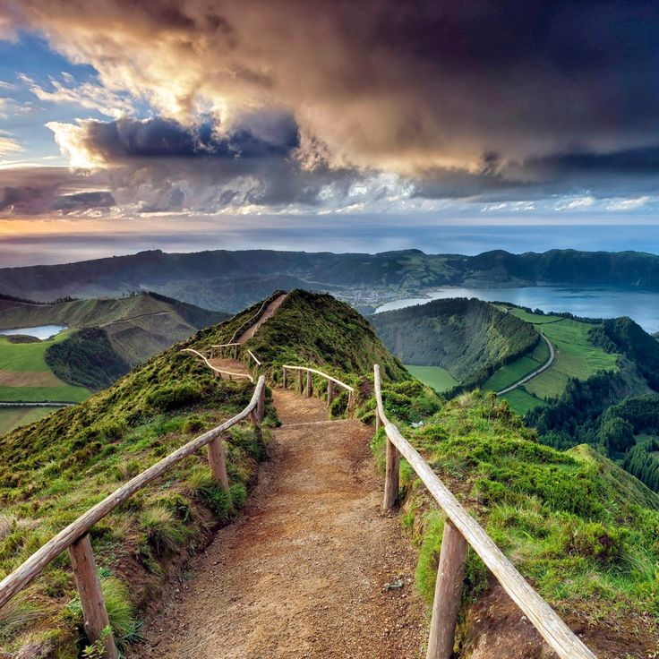 Sao Miguel Island, Azores, Portugal / Остров Сан-Мигель, Азорские о-ва, Португалия