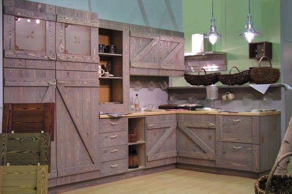 3D-модель кухни в стиле кантри