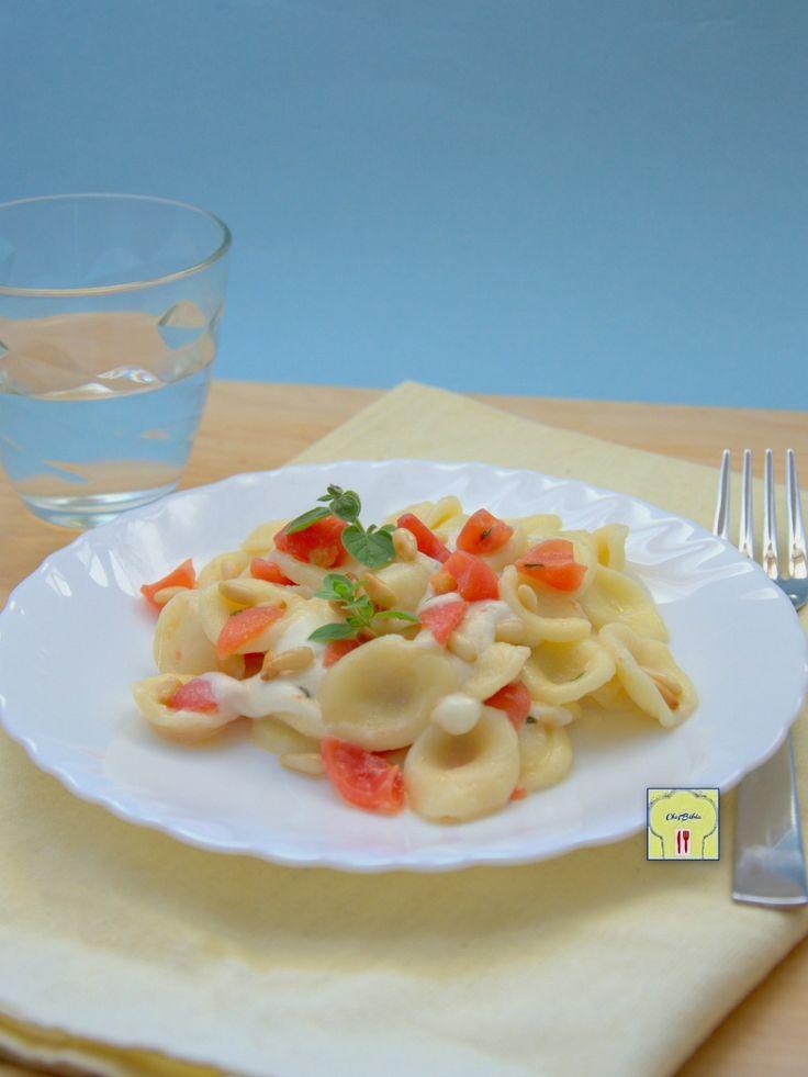 Orecchiette mozzarella e pomodori marinati gp