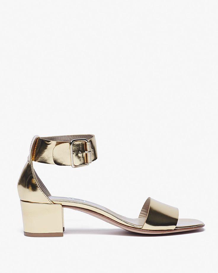AGL Block Heel Sandal   LuckyShops