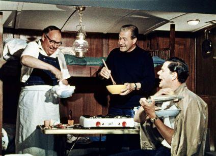 Hans-Joachim Kulenkampff, Heinz Erhardt, Walter Giller, Drei Mann in einem Boot