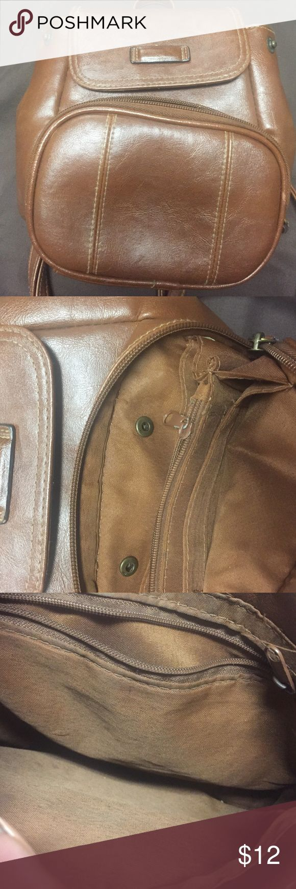 Mini brown backpack Very cute and casual. Nice addition to any outfit. Bags Mini Bags