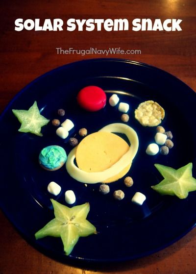 The Magic School Bus Lost in the Solar System Snack   Perfect outer space snack!