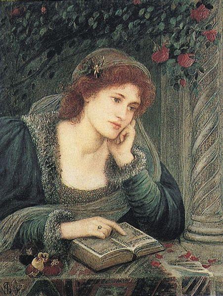 Marie Euphrosyne Spartali (1844 - 1927) - Béatrice