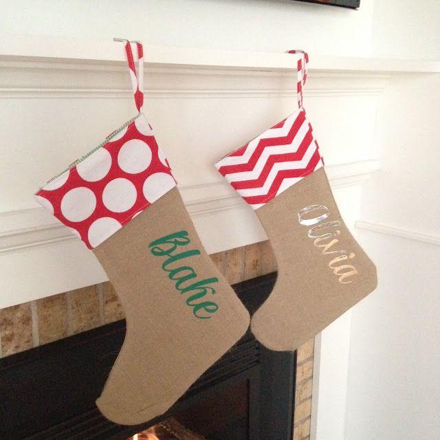 monogram stocking pin