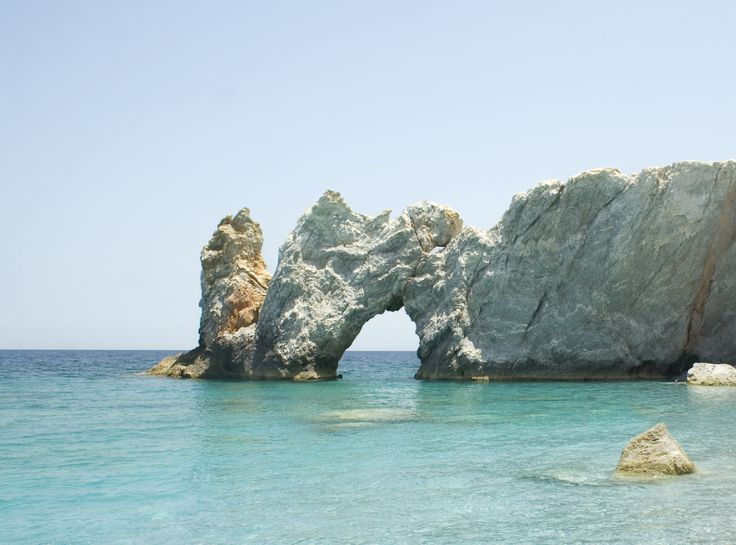 Lalaria Beach, Skiathos: What words could capture the magic of Lalaria? The island's trademark, it has often won the title of most stunning beach and its fame has spread around the world. Its emerald water and smooth white pebbles under towering sheer rocks attract dozens of boats daily, loaded with eager visitors who can't wait to see it up close.