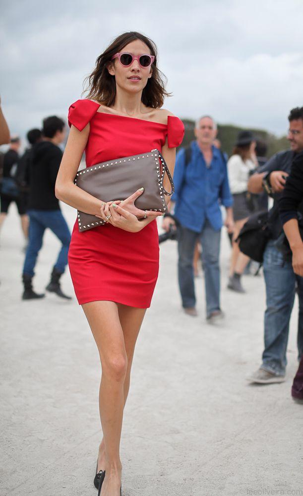 Alexa Chung #streetstyle #fashion