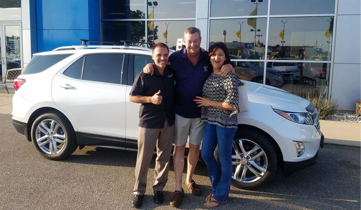 """Gregg, wishing you many """"Miles of Smiles"""" in your 2018 CHEVROLET EQUINOX!  All the best, Kunes Country Chevrolet Cadillac of Delavan and LISA WAGENAAR."""