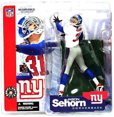 Jason Sehorn New York Giants Jerseys