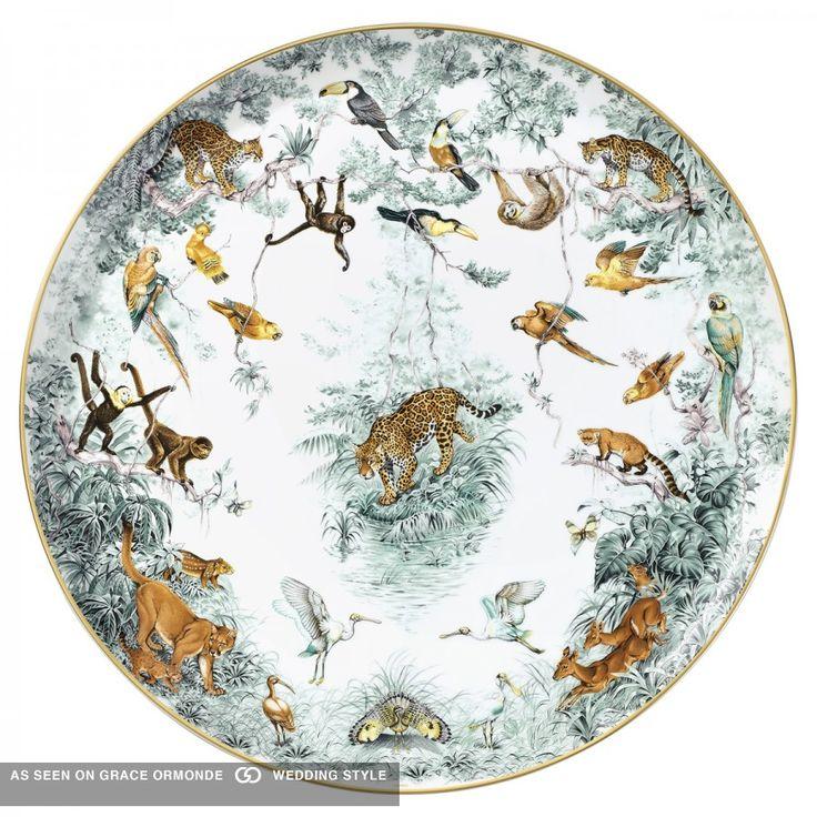 hemes china safari pattern luxury wedding gift
