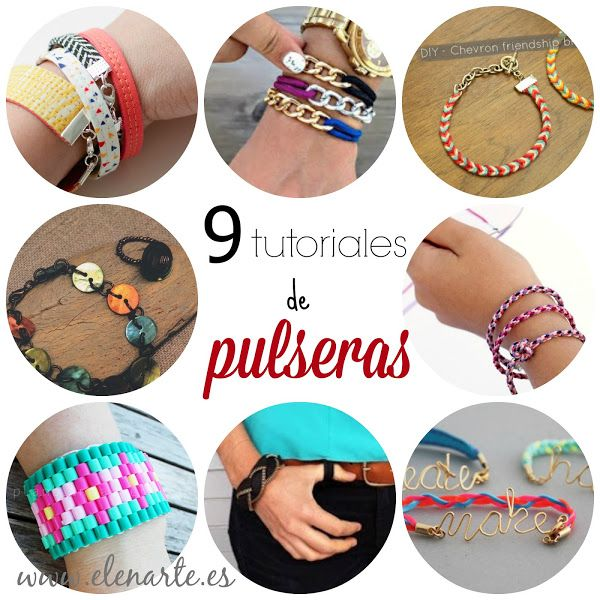 Ideas: 9 pulseras diy | Aprender manualidades es facilisimo.com