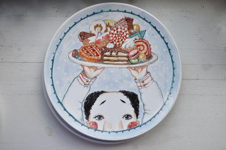 Блюдо Бабунчик со сластями
