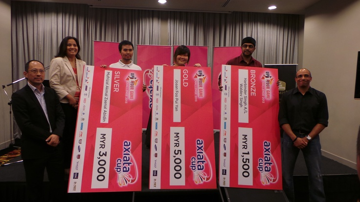 Axiata Cup Video Competition winners