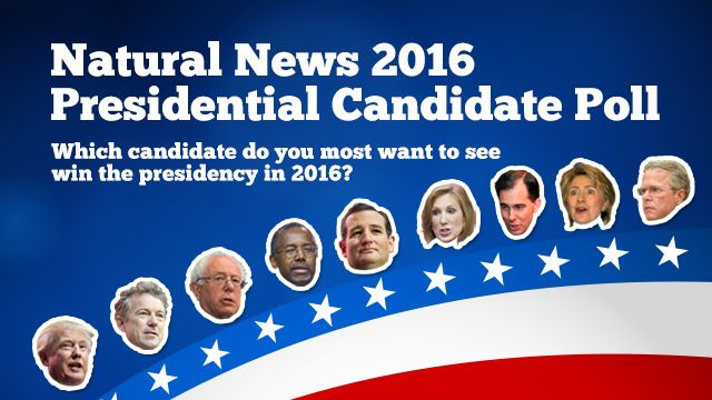Donald Trump dominates Natural News 2016 Presidential poll as runaway favorite with 44.3% of the vote